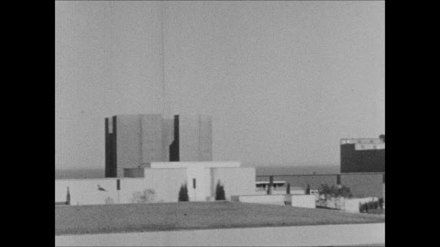 vidéos et rushes de northerly island exhibits at the 1933 chicago world's fair - 1933