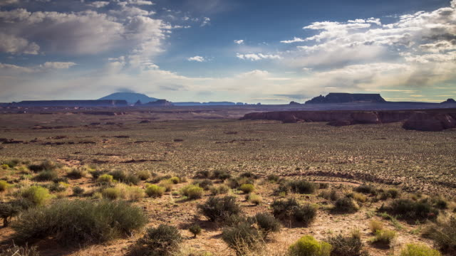 northern arizona desert timelapse. - grand canyon video stock e b–roll