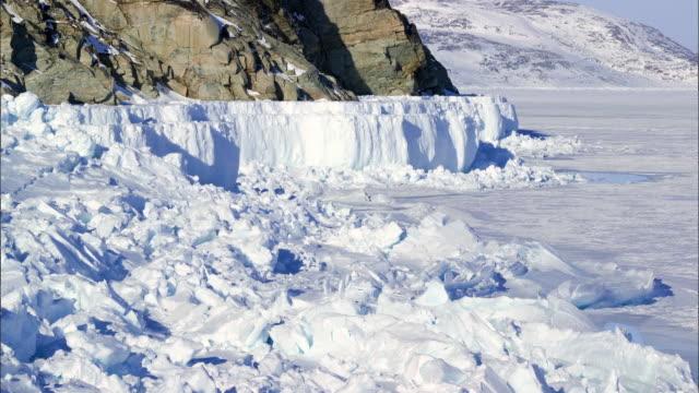Northern glacier area in Canada