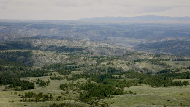 vidéos et rushes de av northern great plains in montana, usa - grandes plaines américaines
