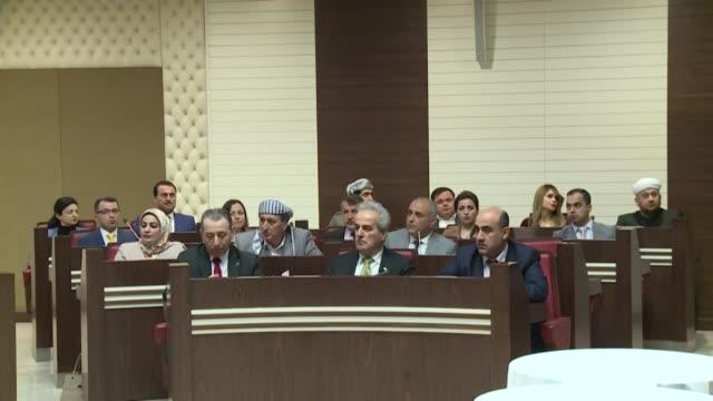 Northern Iraq's Kurdish region on Monday elected a member of the Kurdistan Democratic Party as interim speaker of the Erbilbased Kurdish parliament...