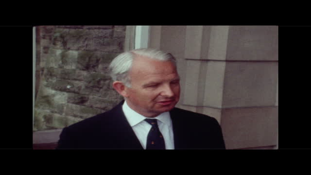 an assessment of the problem; northern ireland: belfast: signs daubed on walls cms ditto, pan l-r cms for god and for ever another join the ovf... - waterfall stock videos & royalty-free footage