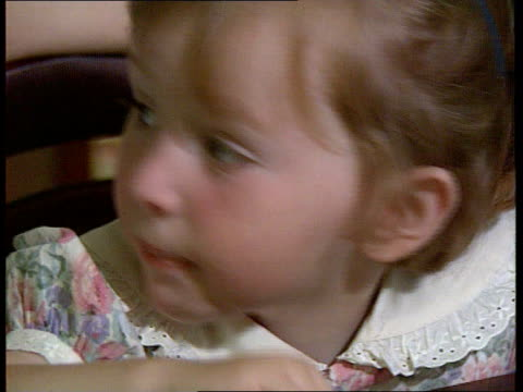 death toll over 23 years of violence northern ireland jean caldwell wife of cecil caldwell with child in kitchen cms grace caldwell eating cms jean... - anmut stock-videos und b-roll-filmmaterial