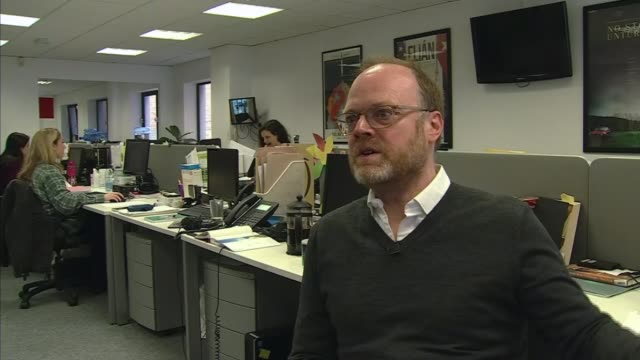 Northern Ireland judge defends journalists' right to protect sources NORTHERN Trevor Birney setup sitting in office talking with Channel 4 News...