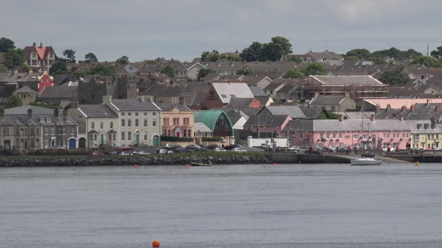 northern ireland portaferry across the strangford lough pan - ferry stock videos & royalty-free footage