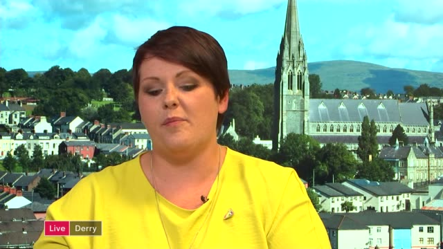 Northern Ireland samesex marriage and abortion amendments backed by MPs in Westminster ENGLAND London GIR INT Sara Canning LIVE 2WAY interview from...