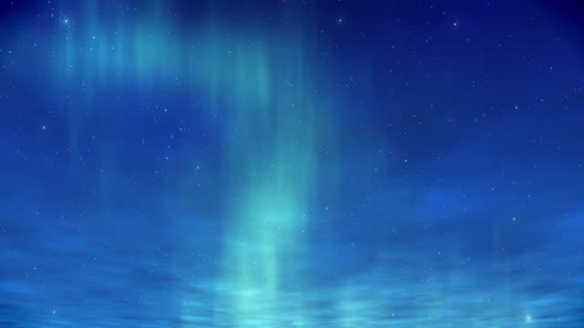 nordlichter aurora hintergründe - wide stock-videos und b-roll-filmmaterial