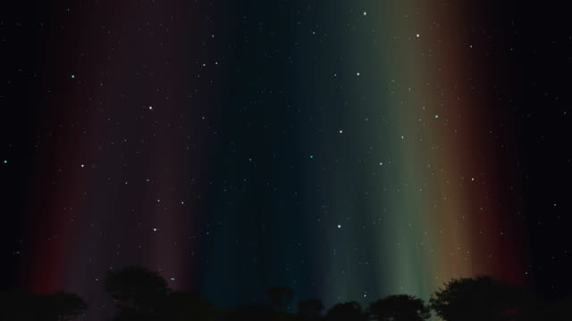 北の光 - アラスカ点の映像素材/bロール