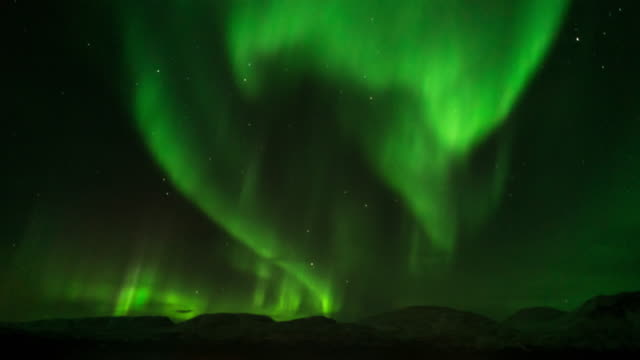 Northern Light, time-lapse.