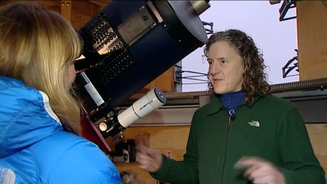 northumberland area awarded dark sky park status int fildes interview sot - environmental media awards stock videos & royalty-free footage