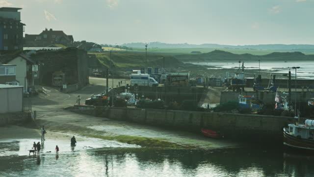 ノーサンバーランドの漁村