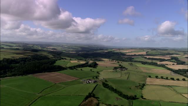 northumberland landscape - northumberland video stock e b–roll