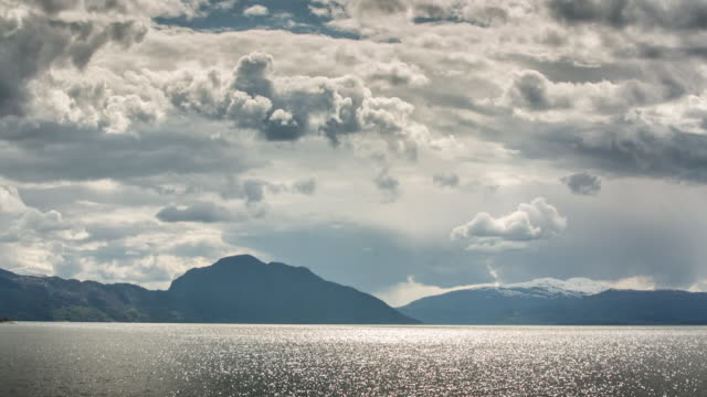 norway, eidfjord - horizon stock videos & royalty-free footage