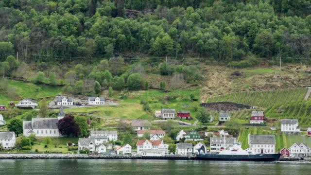 Norway, Eidfjord, Village