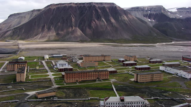 Norway Svalbard City Of Pyramiden High-Res Stock Video Footage - Getty  Images