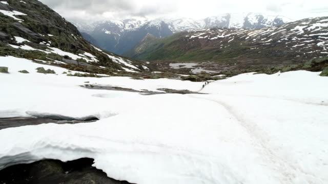 norweigian highlands - scandinavian culture stock videos and b-roll footage