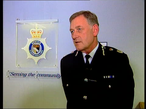 int chief constable ken williams interview sot in first instance should make a lot of noise/ most intruders would exit the premises very quickly/ if... - martin luther: his life and time stock videos & royalty-free footage
