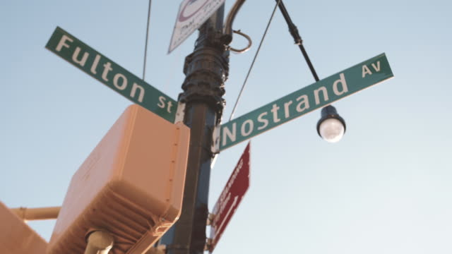 nostrand avenue brooklyn - avenue stock videos & royalty-free footage