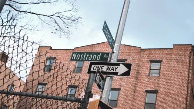 Nostrand Avenue intersection in Brooklyn, New York City