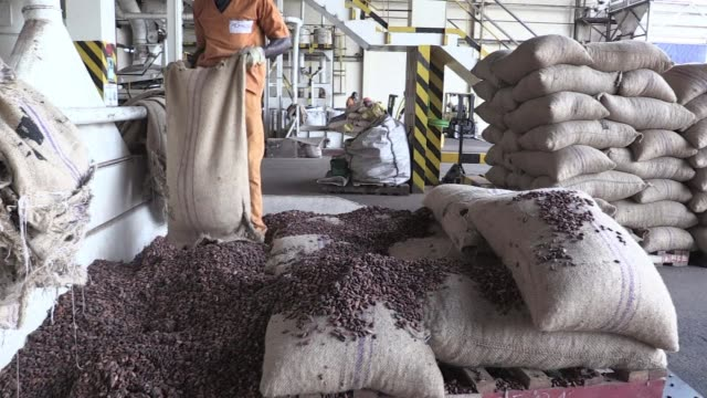 not content with being the worlds top producer of cocoa ivory coast is keen to expand into more lucrative parts of the sector such as chocolate... - producer stock videos & royalty-free footage