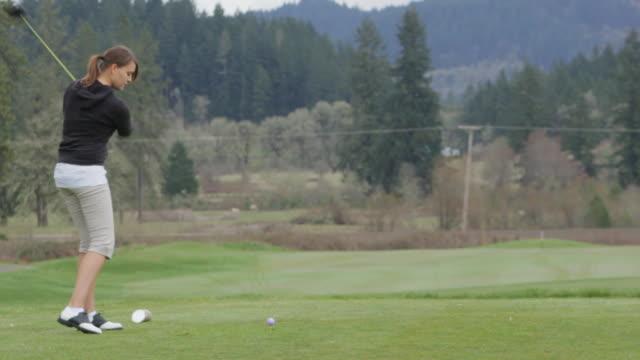 Not Such a Nice Golf Drive Shot