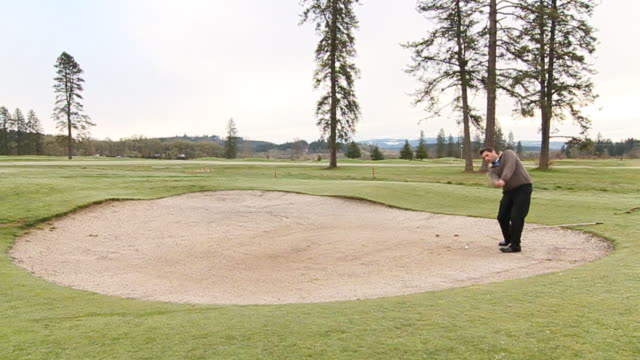 Not the Best Bunker Shot in the Mountains