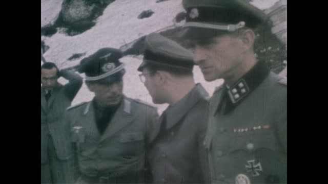 from eva braun's home movie collection - colour image stock videos & royalty-free footage