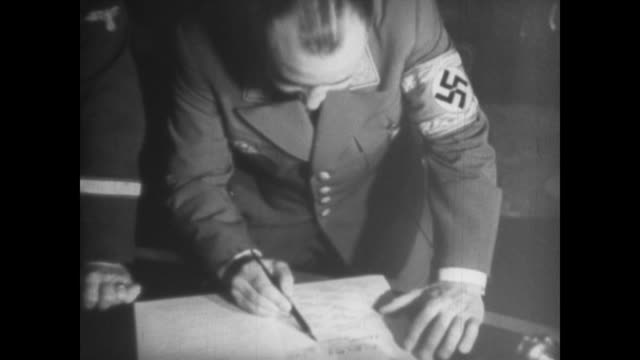 from eva braun's home movie collection - nazi swastika stock videos and b-roll footage