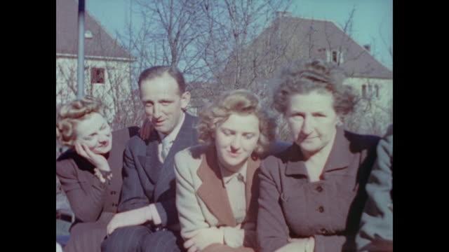 from eva braun's home movie collection - eva braun bildbanksvideor och videomaterial från bakom kulisserna