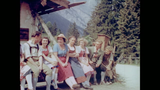 from Eva Braun's home movie collection