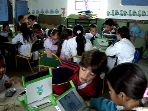 A notebook number 2 pencils and the newest essential school supply in Urugay a laptop Las Piedras Uruguay