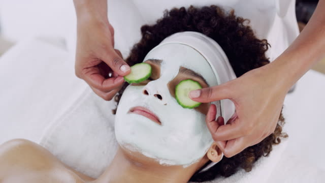 nothing beats that pampered feeling - cucumber stock videos & royalty-free footage