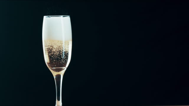 nothing says glam like good champagne - champagne flute stock videos & royalty-free footage