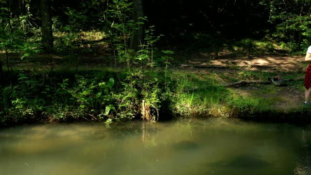 "vídeos de stock e filmes b-roll de nothing says ""zen"" loudly like fishing does! - outdoor pursuit"