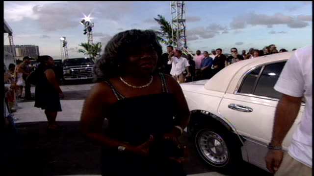 notorious big's mother voletta wallace and his daughter t'yanna wallace walking down the red carpet - biggie smalls stock videos and b-roll footage