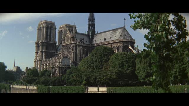 ws notre dame cathedral / paris, france - notre dame de paris stock videos and b-roll footage