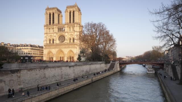 Notre Dame de Paris cathedral in Paris, France.