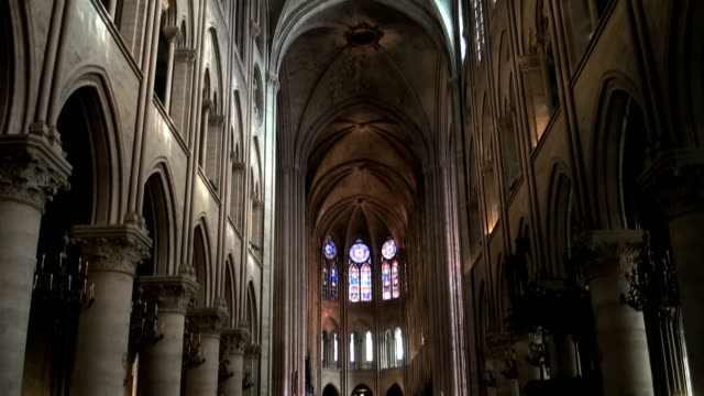 notre dame de paris - catholicism stock videos and b-roll footage
