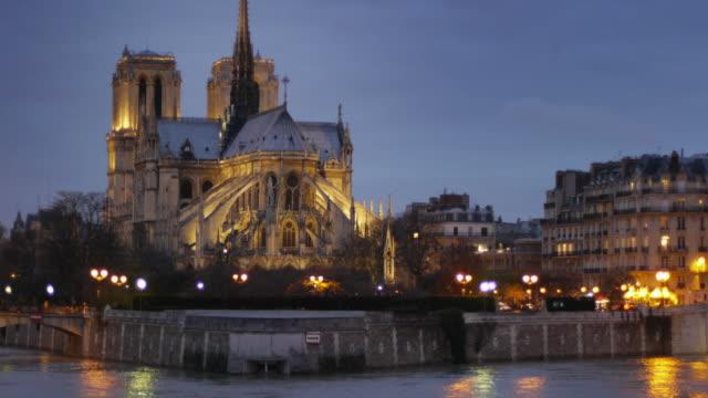 notre dame - notre dame de paris stock videos & royalty-free footage