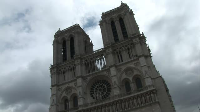 NotreDame de Paris Exterior BRoll 01