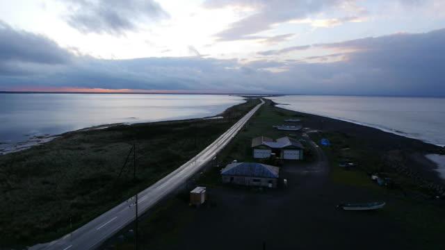 AERIAL, Notsuke Peninsula, Hokkaido, Japan