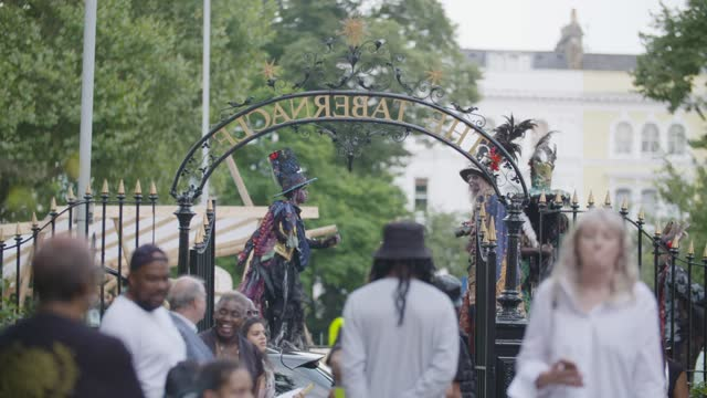 notting hill carnival 2021 launch on july 26, 2021 in london, england. - notting hill videos stock videos & royalty-free footage