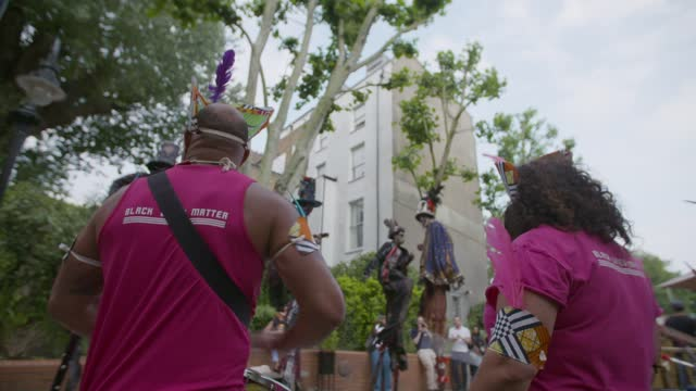 notting hill carnival 2021 on july 26, 2021 in london, england. - greater london stock videos & royalty-free footage