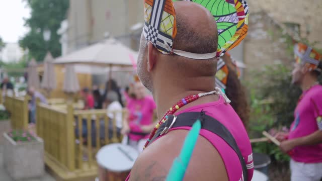 notting hill carnival 2021 on july 26, 2021 in london, england. - notting hill videos stock videos & royalty-free footage