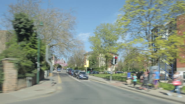 nottingham trent university, nottingham, england, uk, europe - ノッティンガム点の映像素材/bロール
