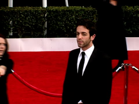 bj novak at the 14th annual screen actors guild awards at los angeles ca - b.j. novak stock videos and b-roll footage