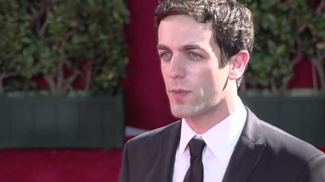novak at the 61st annual primetime emmy awards - arrivals part 3 at los angeles ca. - annual primetime emmy awards stock videos & royalty-free footage