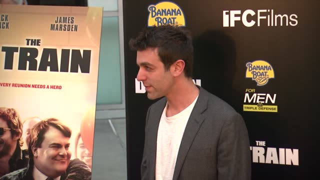 bj novak at the d train los angeles premiere at arclight cinemas on april 27 2015 in hollywood california - b.j. novak stock videos and b-roll footage