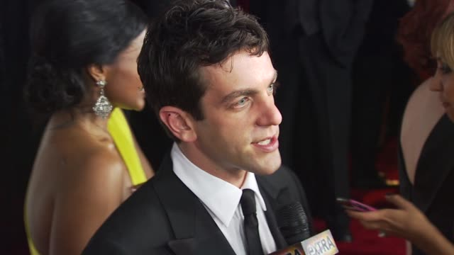 bj novak at the nbc universal 67th annual golden globe awards afterparty at beverly hills ca - b.j. novak stock videos and b-roll footage