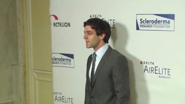 bj novak at the scleroderma research foundation's 'cool comedy hot cuisine' at beverly hills ca - b.j. novak stock videos and b-roll footage